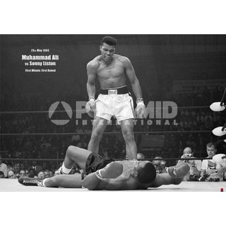 plakát Muhammad Ali Liston - Landscape - Pyramid Posters, PYRAMID POSTERS