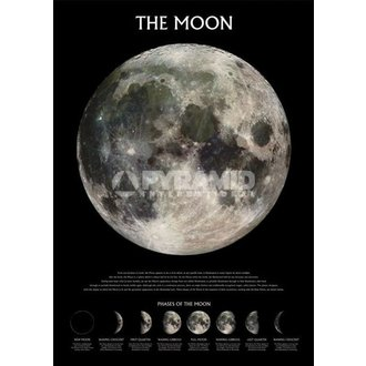 plakát The Moon - Outer Space - Pyramid Posters - PP0432
