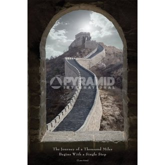 plakát Journey Of A Thousand Miles - Pyramid Posters, PYRAMID POSTERS
