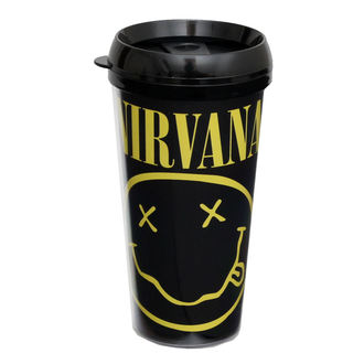 hrnek termo Nirvana - ROCK OFF - CURP, ROCK OFF, Nirvana