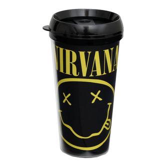 hrnek termo Nirvana - ROCK OFF - CURP, ROCK OFF, Nirvana
