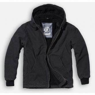 bunda pánská zimní BRANDIT - Manhattan - Black - 3104/2