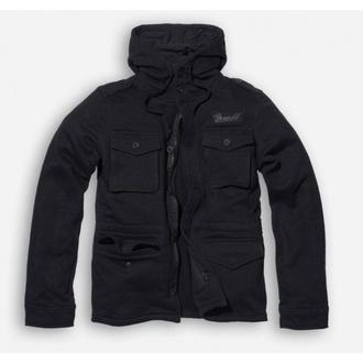 mikina pánská BRANDIT - Detroit Sweat - Black, BRANDIT