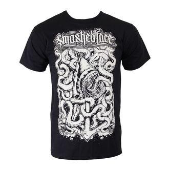 tričko pánské SMASHED FACE - Shark - Black, Smashed Face