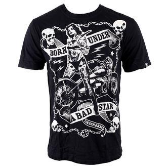 tričko pánské LIQUOR BRAND - Bad Star Chick - Black - 174