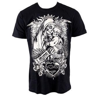 tričko pánské LIQUOR BRAND - Sagrada - Black