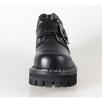 boty KMM 4dírkové - Big Skulls Black Full, KMM