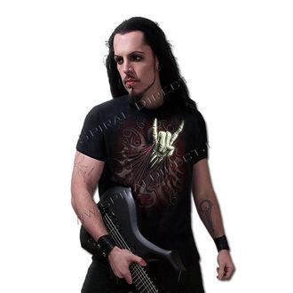 tričko pánské SPIRAL - Rock Salute - Blk - T067M101