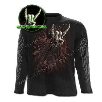 tričko pánské s dlouhým rukávem SPIRAL - Rock Salute