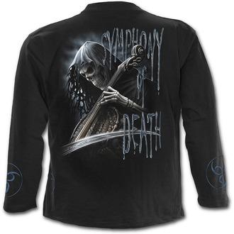 tričko pánské s dlouhým rukávem SPIRAL - Symphony Of Death - K013M301