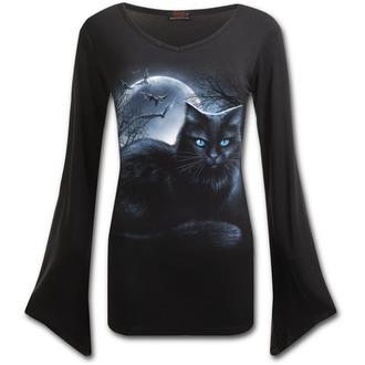 tričko dámské s dlouhým rukávem SPIRAL- Mystical Moonlight - F012F436