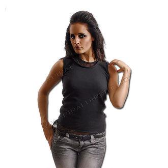 tričko dámské SPIRAL - 2IN1 Meshvest - Blk - P002G028
