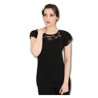 tričko dámské SPIRAL - Lace Layered