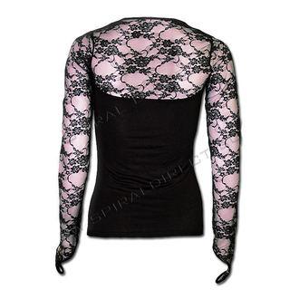 tričko dámské s dlouhým rukávem SPIRAL - Lace Glove - P001F434
