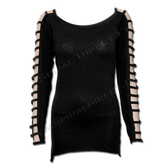 tričko dámské s dlouhým rukávem SPIRAL - Gothic Elegance  - P001F435