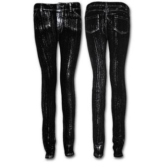 kalhoty dámské (leginy) SPIRAL - Black