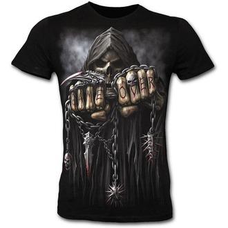 tričko pánské SLIM - SPIRAL - Game Over - Black