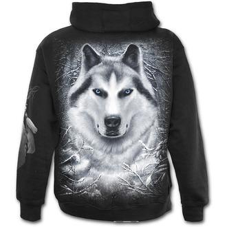 mikina pánská SPIRAL - Wolf - White - T053M464