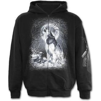 mikina pánská SPIRAL - Wolf - White