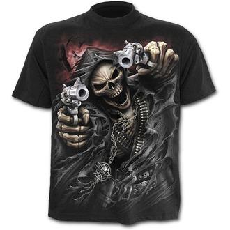 tričko pánské SPIRAL - Assassin - Blk - T058M101