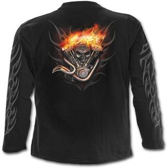 tričko pánské s dlouhým rukávem SPIRAL - Wheels Of Fire - T061M301