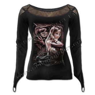 tričko dámské s dlouhým rukávem SPIRAL - Dragon Princess