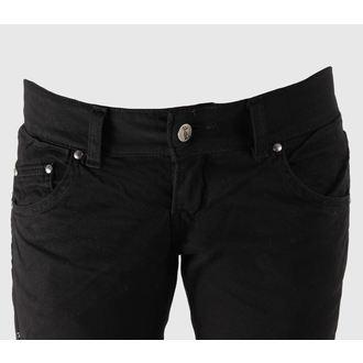 kalhoty dámské 3RDAND56th - Punk Leo Skinny Jeans