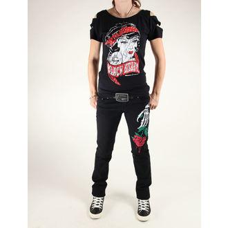 kalhoty dámské 3RDAND56th - Stelly Rose Skinny Jeans, 3RDAND56th