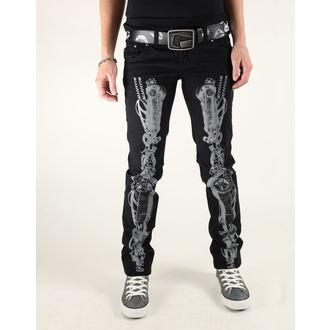 kalhoty dámské 3RDAND56th - Steam Punk Skinny Jeans - JM1025