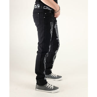 kalhoty dámské 3RDAND56th - Steam Punk Skinny Jeans, 3RDAND56th
