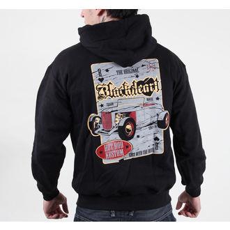 mikina pánská s kapucí BLACK HEART - Death Rod