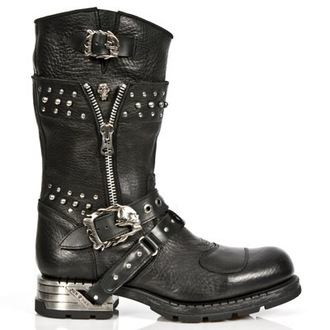 boty NEW ROCK - MR022-S1 - Itali Negro