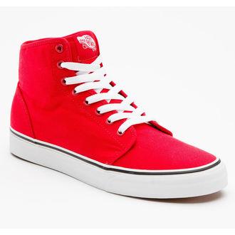 boty VANS - 106 HI - Red/True White - VRQM6RT