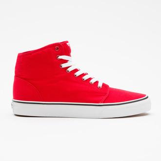 boty VANS - 106 HI - Red/True White, VANS