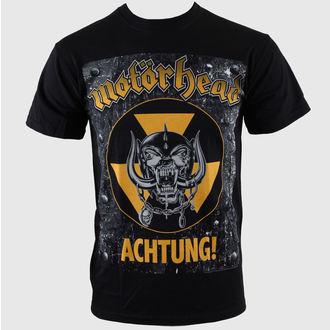 tričko pánské Motörhead - Achtung g- Blk - ROCK OFF - MHEADTEE06MB