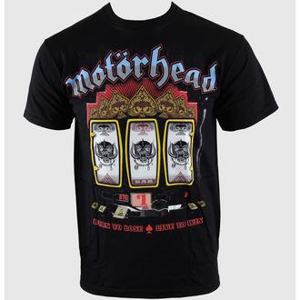 tričko pánské Motörhead - Slots - Blk - ROCK OFF, ROCK OFF, Motörhead