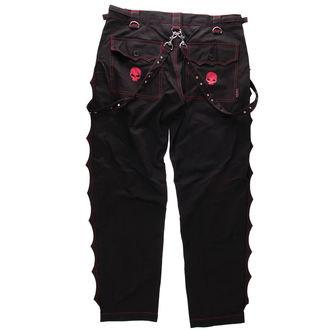 kalhoty pánské DEAD THREADS - Red