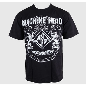 tričko pánské Machine Head - Classic Crest - ROCK OFF, ROCK OFF, Machine Head