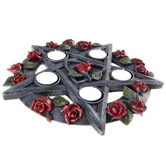 svícen Pentagram Rose