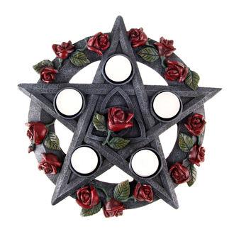svícen Pentagram Rose - NEM5185