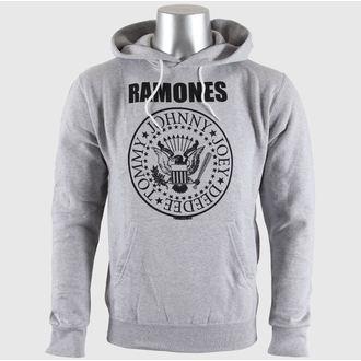 mikina pánská Ramones - Seal Logo Gry - BRAVADO EU, BRAVADO EU, Ramones
