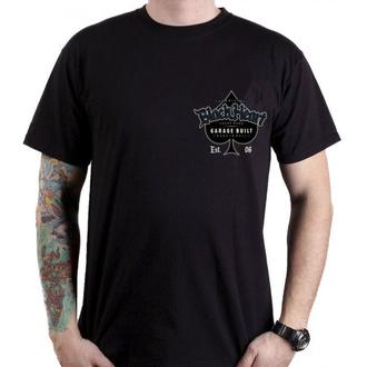tričko pánské BLACK HEART - OUTCAST - BLACK, BLACK HEART