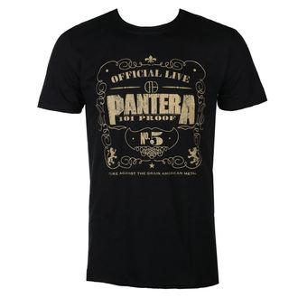 tričko pánské Pantera - 101 Proof - BRAVADO EU, BRAVADO EU, Pantera