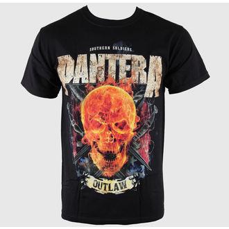 tričko pánské Pantera - Outlaw Skull - BRAVADO, BRAVADO, Pantera