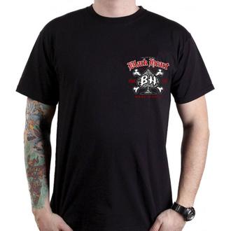 tričko pánské BLACK HEART - SKULL BONES - BLACK, BLACK HEART