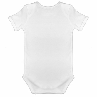 body dětské my first metal shirt - white - black - Metal-Kids, Metal-Kids