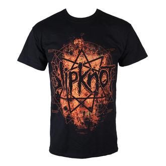 tričko pánské Slipknot - Radio Fires Logo - BRAVADO, BRAVADO, Slipknot