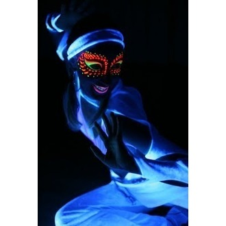 barva na tělo a obličej STAR GAZER - Neon Orange