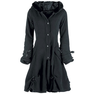 kabát dámský POIZEN INDUSTRIES - Alice - Black - POI415