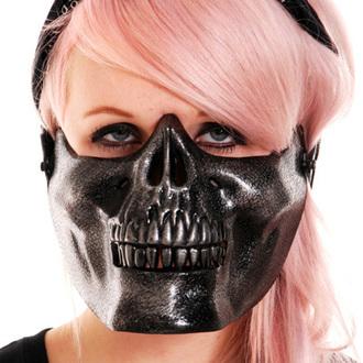 maska POIZEN INDUSTRIES - Skull - Black, POIZEN INDUSTRIES